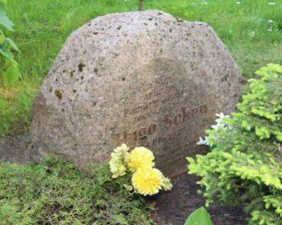 Paminklinis akmuo Hugo Šojui